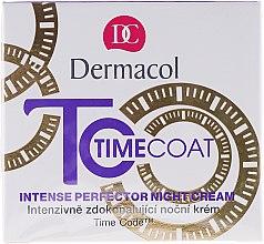 Düfte, Parfümerie und Kosmetik Nachtcreme - Dermacol Time Coat Intense Perfector Night Cream
