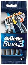 Düfte, Parfümerie und Kosmetik Set Rasierer 4 St. - Gillette Blue 3