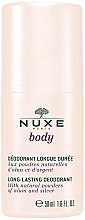 Düfte, Parfümerie und Kosmetik Deo Roll-on - Nuxe Body Long-Lasting Deodorant