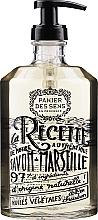 Düfte, Parfümerie und Kosmetik Marseiller Flüssigseife mit Rose Glasflasche - Panier des Sens Liquid Marseille Soap
