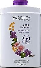Düfte, Parfümerie und Kosmetik Yardley April Violets - Parfümierter Körperpuder