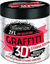 Düfte, Parfümerie und Kosmetik Haargel - Bielenda GRAFFITI 3D Extra Strong Stayling Hair Gel