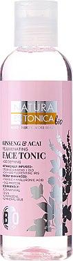 Verjüngendes Gesichtstonikum mit Ginseng- und Akai-Extrakt und Hyaluronsäure - Natura Estonica Ginseng & Acai Face Tonic