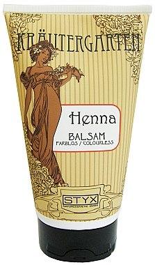 Haarspülung mit farblosem Hennaextrakt für glänzendes, geschmeidiges und leicht kämmbares Haar - Styx Naturcosmetic Henna Balsam