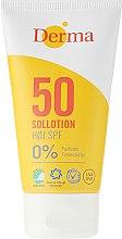 Düfte, Parfümerie und Kosmetik Sonnenschutz Lotion SPF 50 parfümfrei - Derma Sun Lotion SPF50