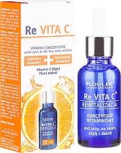 Düfte, Parfümerie und Kosmetik Gesichts-, Hals- und Dekolleté-Konzentrat mit Vitamin C - Floslek Re Vita C Concentrate With Vitamin C