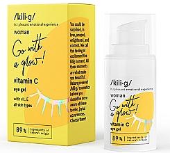 Düfte, Parfümerie und Kosmetik Pflegegel für die Augenpartie mit Vitamin C - Kili·g Woman Eye Gel