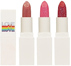 Düfte, Parfümerie und Kosmetik Lippenstift mit Glitzerpartikeln - Holika Holika Love Who You Are Collection Crystal Crush Lipstick
