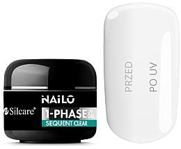 Düfte, Parfümerie und Kosmetik UV-Nagelgel farblos - Silcare Nailo 1-Phase Gel UV Sequent Clear