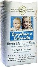 Düfte, Parfümerie und Kosmetik Schützende und nährende extra sanfte Seife Carolina e Edoardo - Nesti Dante Carolina e Edoardo Soap
