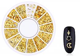 Düfte, Parfümerie und Kosmetik Nageldekoration Gold-3 - Deni Carte