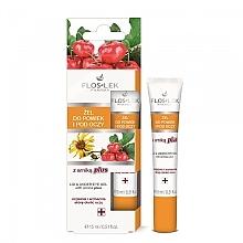 Düfte, Parfümerie und Kosmetik Gel für die Augenpartie mit Arnika - Floslek Arnica Plus Lid & Under Eye Gel