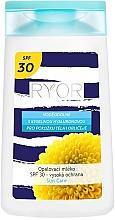 Düfte, Parfümerie und Kosmetik Sonnenschutzmilch für den Körper SPF 30 - Ryor Sun Lotion SPF 30 Medium Protection