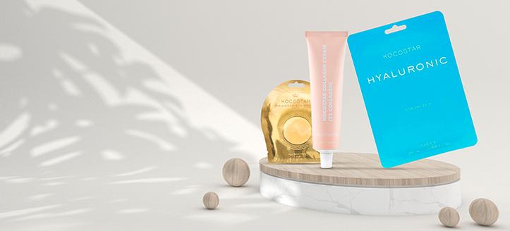 Sie erhalten eine Gesichtsmaske geschenkt beim Kauf von Kocostar Produkten ab CHF 13