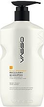 Düfte, Parfümerie und Kosmetik Regenerierendes Shampoo mit Keratin und Kaviarextrakt - Vasso Professional Recovery Shampoo