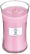 Düfte, Parfümerie und Kosmetik Duftkerze im Glas Rose - WoodWick Hourglass Candle Rose