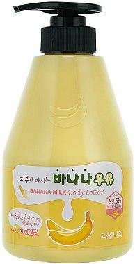Körperlotion mit Banenenextrakt - Welcos Banana Milk Skin drinks Body Lotion