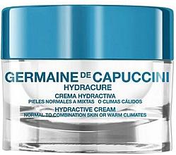 Düfte, Parfümerie und Kosmetik Feuchtigkeitsspendende Gesichtscreme für normale bis Mischhaut - Germaine de Capuccini Hydracure Hydractive Cream