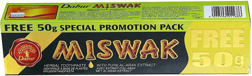 Kräuterzahnpasta mit Miswakextrakten - Dabur Miswak