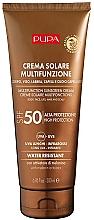 Düfte, Parfümerie und Kosmetik Feuchtigkeitsspendende Sonnenschutzcreme für Körper, Gesicht, Haar und Kopfhaut SPF 50 - Pupa Multifunction Sunscreen Cream