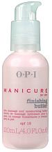 Düfte, Parfümerie und Kosmetik Feuchtigkeitsspendende Massagebutter für die Hände - O.P.I. Manicure Finishing Butter SPF 15