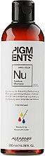 Düfte, Parfümerie und Kosmetik Revitalisierendes Shampoo für stark strukturgeschädigtes und brüchiges Haar - Alfaparf Milano Pigments Nutritive Shampoo