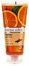 Düfte, Parfümerie und Kosmetik Körperpeeling mit Orangen und Zimtbutter - Fresh Juice Orange & Cinnamon