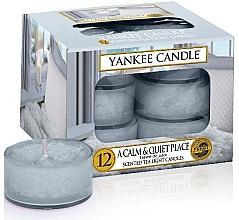 Düfte, Parfümerie und Kosmetik Teelichter A Calm & Quiet Place - Yankee Candle A Calm & Quiet Place Tea Light Candles