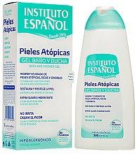 Düfte, Parfümerie und Kosmetik Intensiv feuchtigkeitsspendendes sanftes Bade- und Duschgel für atopische Haut - Instituto Espanol Atopic Skin Shower Gel