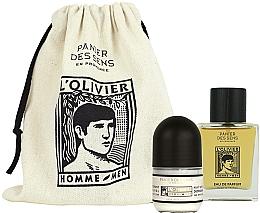 Düfte, Parfümerie und Kosmetik Panier des Sens L'Olivier - Duftset (Eau de Parfum 50ml + Deo Roll-on 50ml)