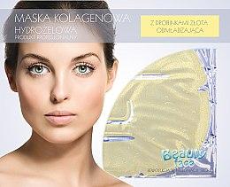Düfte, Parfümerie und Kosmetik Gesichtsmaske mit Goldpartikeln - Beauty Face Collagen Hydrogel Mask
