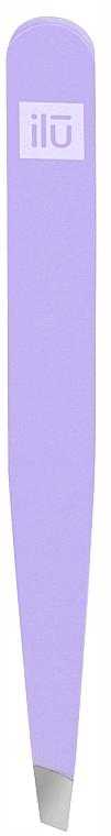 Pinzette schräg violett - Ilu