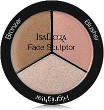 Düfte, Parfümerie und Kosmetik Konturierpalette für das Gesicht - IsaDora Face Sculptor