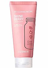 Düfte, Parfümerie und Kosmetik Erfrischender Gesichtsreinigungsschaum mit Fruchtextrakten und Beerenduft - The Saem My Cleanse Recipe Cleansing Foam-Shine Berry