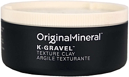 Düfte, Parfümerie und Kosmetik Mattierendes und definierendes Haarwachs für Männer - Original & Mineral K-Gravel Texture Clay