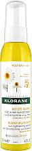 Düfte, Parfümerie und Kosmetik Leichtes Haarspray mit Kamille und Honig für blondes Haar - Klorane Blond Highlights Sun Lightening Spray With Chamomile And Honey