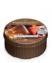 Düfte, Parfümerie und Kosmetik Duftkerze Cognac & Leder - Kringle Candle Cognac & Leather