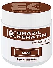 Düfte, Parfümerie und Kosmetik Regenerierende Haarmaske mit Keratin und Aloe Vera - Brazil Keratin Chocolate Mask
