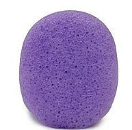 Düfte, Parfümerie und Kosmetik Konjac-Schwamm für das Gesicht mit Lavendel oval - Bebevisa Konjac Sponge Oval