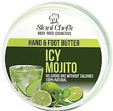 """Düfte, Parfümerie und Kosmetik Kühlende und beruhigende Hand- und Fußcreme """"Ice Mojito"""" - Stani Chef's Hand And Foot Butter Icy Mojito"""