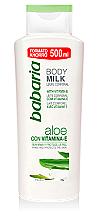 Düfte, Parfümerie und Kosmetik Körpermilch mit Aloe Vera und Vitamin E - Babaria Body Milk Aloe Vera + vit. E