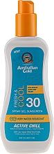 Düfte, Parfümerie und Kosmetik Kühlendes und erfrischendes Sonnenschutzspray-Gel für den Körper SPF 30 - Australian Gold Sunscreen Spf 30 X-Treme Sport Spray Gel Active