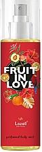 Düfte, Parfümerie und Kosmetik Lazell Fruit In Love - Parfümierter Körpernebel