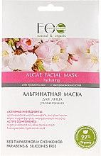 Düfte, Parfümerie und Kosmetik Feuchtigkeitsspendende Gesichtsmaske mit Mandelöl und Aloe Vera-Extrakt - ECO Laboratorie Algae Facial Mask