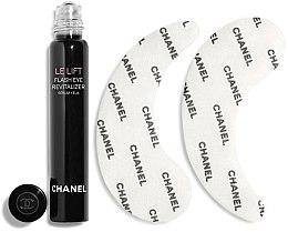 Düfte, Parfümerie und Kosmetik Augenpflegeset - Chanel Le Lift (Augenserum 5ml + Augenpatches 2St.)