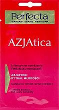 Düfte, Parfümerie und Kosmetik Feuchtigkeitsspendende Gesichts-, Hals- und Dekolletémaske - Perfecta Azjatica Mask For Face Neck And Decolletage