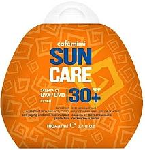 Düfte, Parfümerie und Kosmetik Wasserfeste Anti-Aging Sonnenschutzcreme für Körper und Gesicht gegen Pigmentflecken SPF 30+ - Cafe Mimi Sun Care