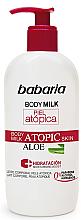 Düfte, Parfümerie und Kosmetik Körpermilch mit Aloe Vera für atopische Haut - Babaria Atopic Aloe Body Milk