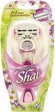 Düfte, Parfümerie und Kosmetik Rasiersystem mit 2 Ersatzklingen - Dorco Shai 3+3