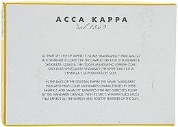 Seife Mandarine - Acca Kappa Green Mandarin Toilet Soap — Bild N3